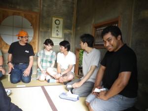 「遊子庵」<H会員自作>にて茶道教室オープン