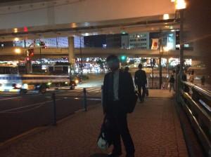 ニューオオタニホテル近辺は、日本とPNG国旗掲揚で歓迎ムード