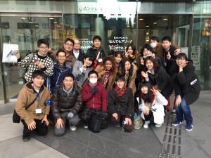 インフォメーションボランテイアグループ(二日目)寒かったね~!