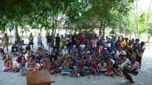 カオク村の人々